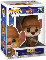 Basil the Great Mouse Detective Basil Vinyl Figure 774