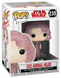 Episode 8 - The Last Jedi - Vice Admiral Holdo Vinyl Bobble-Head 235