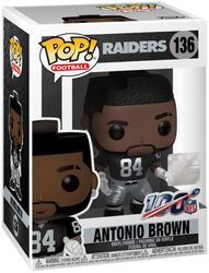 Raiders - Antonio Brown Vinyl Figure 136