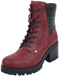 Red Boots with Heel