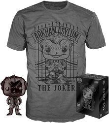 Chrome Joker T-Shirt plus Funko - POP! & Tee