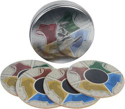 Houses - Coasters with Heat-Change Effect
