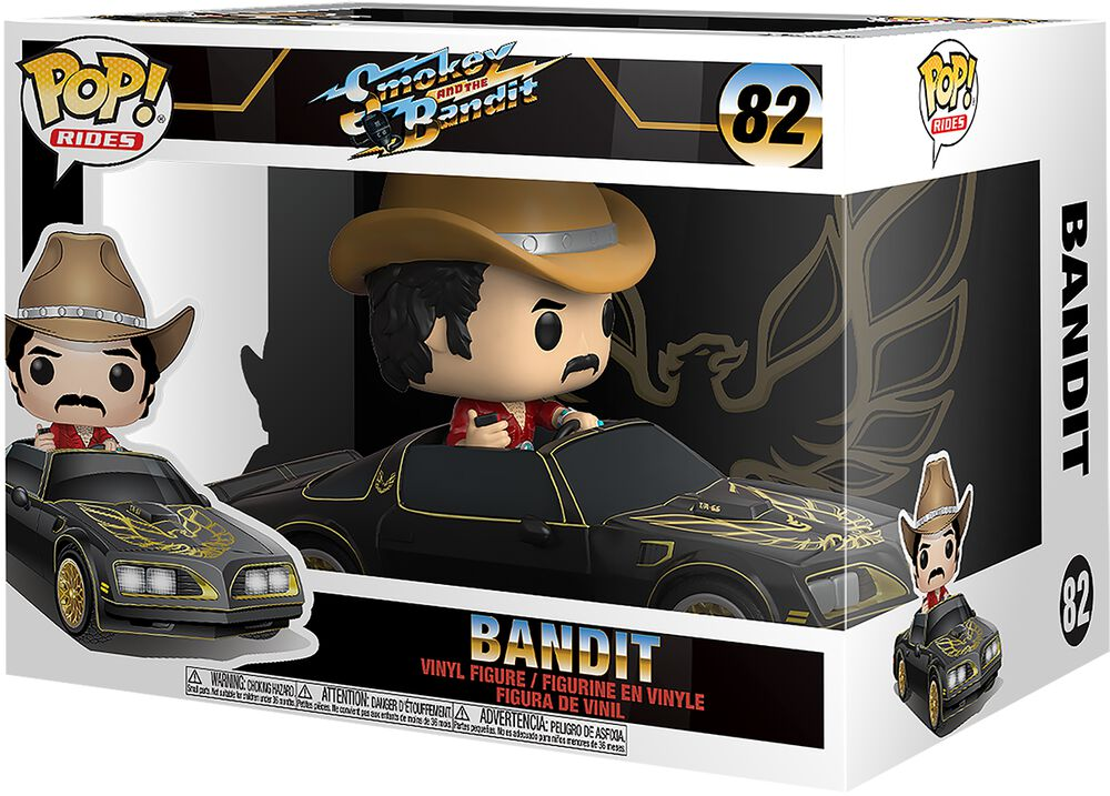 Smokey and the Bandit Bandit in Trans Am (Pop Rides) Vinyl Figure 82