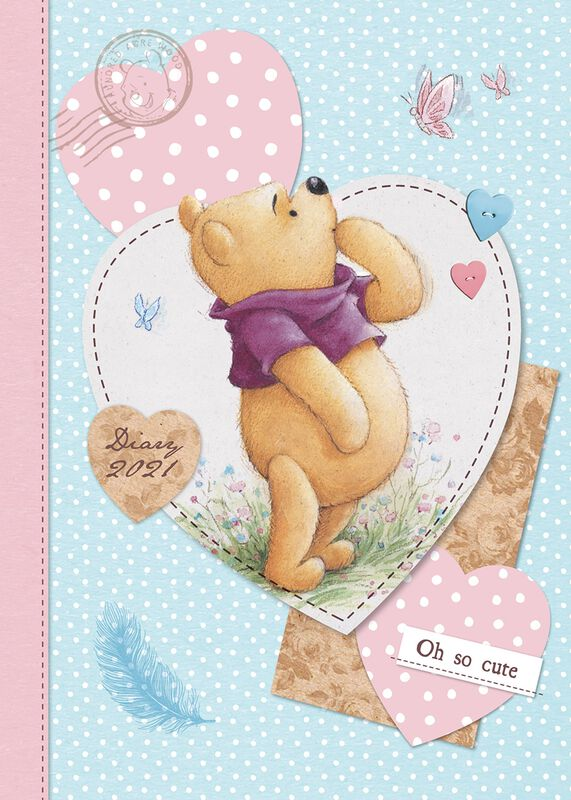2021 A5 Diary | Winnie The Pooh Calendar Book | EMP