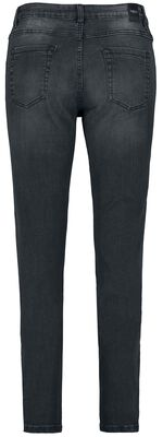 Ladies Skinny Mid Waist 5 Pocket Jeans