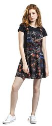 City Lights of Paradise Dungeree Style Dress