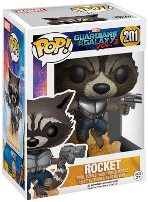 2 - Rocket Vinyl Figure 201