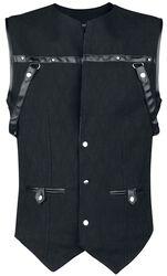 Gothic Brocade Men's Vest