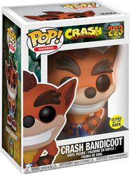 Crash Bandicoot (GITD) Vinyl Figure 273