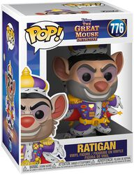 Basil the Great Mouse Detective Ratigan Vinyl Figure 776