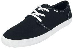 Black Canvas Carlo Sneaker
