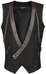 Gothic Men's Doublebreasted Vest