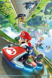 Mario Kart 8 (Flip Poster)