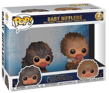 The Crimes of Grindelwald - Baby Nifflers 2-Pack Vinyl Figures