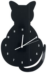 Acrylic Wall Clock  Cat