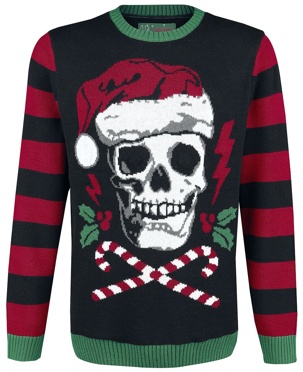 skull ugly christmas sweater christmas jumper emp metallica ugly christmas sweater - Metallica Christmas Sweater