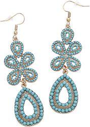 Classic Turquoise Earrings