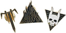 The sin and the sentence - 3er Pin-Set