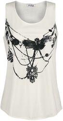 Owl Necklace Vest