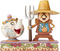 Mrs. Potts & Cogsworth Figurine