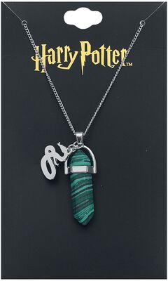 Slytherin Malachite Stone Necklace