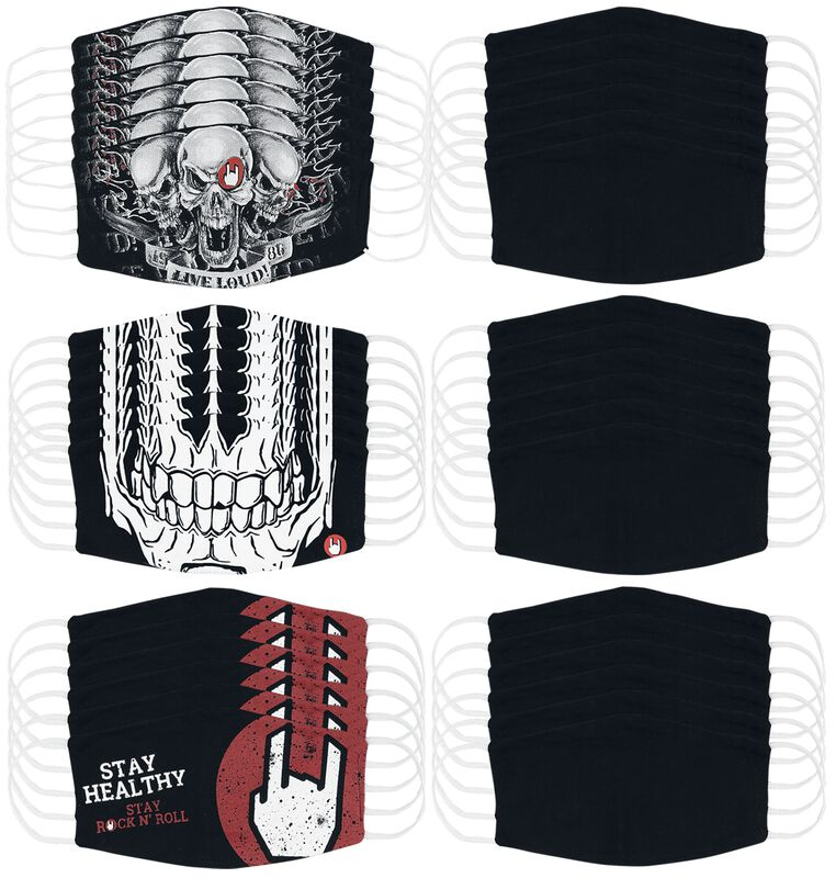 Masks & Costumes - Bundle of 36 Small Size