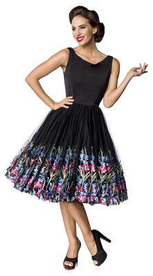 Premium Vintage Floral Dress