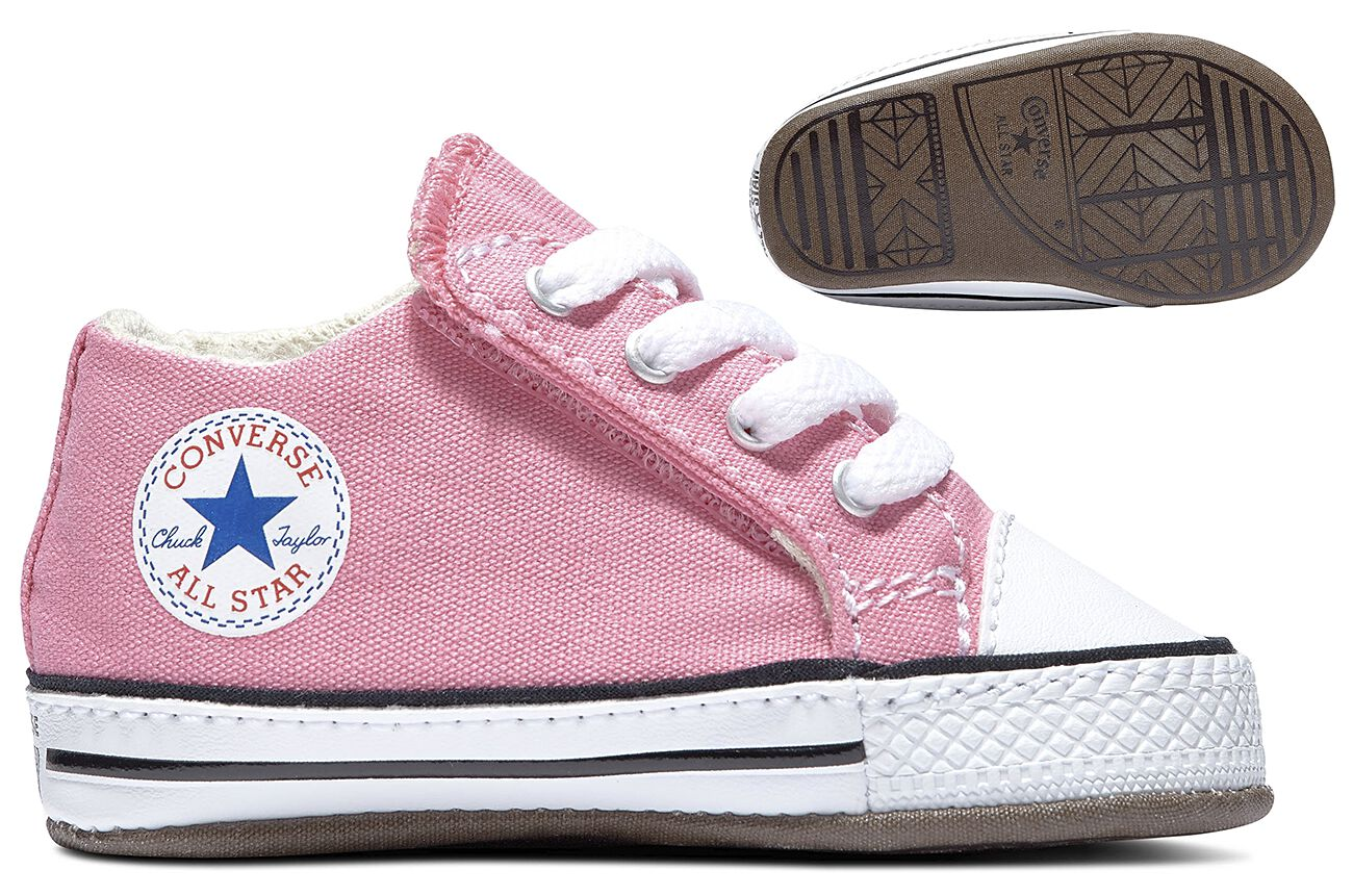 dar a entender Hospitalidad periódico  Pink Converse Baby Shoes   Chuck's First Star   EMP