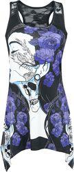 Flower Girl Lace Panel Vest