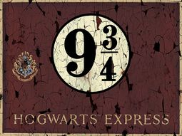 Hogwarts Express 9 3/4