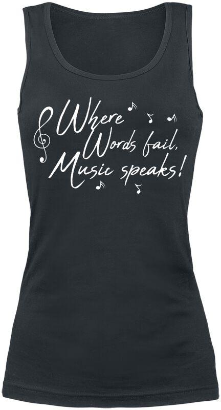 Where Words Fail, Music Speaks!