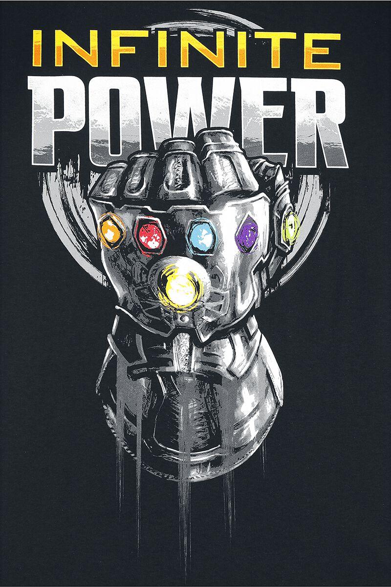 Infinity War Infinite Power Avengers T Shirt Emp