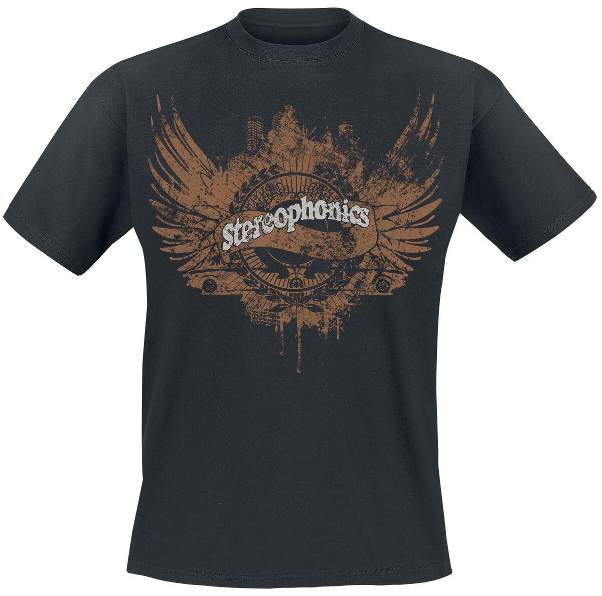 Wings Stereophonics T Shirt Emp