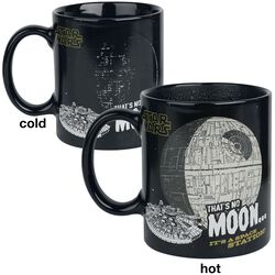 That's No Moon - Heat-Change Mug
