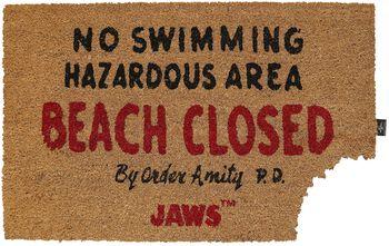 Jaws Beach Closed