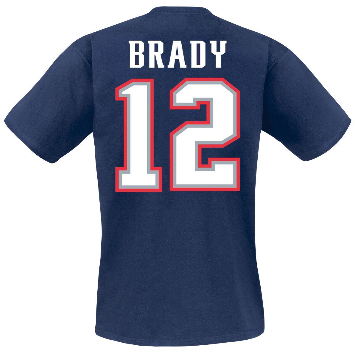 save off 88d4b 436a0 New England Patriots Brady #12