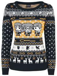 chibi - Metal Band Christmas Sweaters