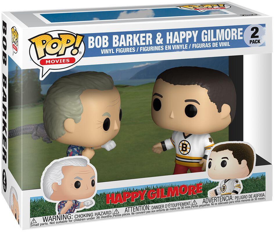 Happy Gilmore Bob Barker & Happy Gilmore Vinyl Figure