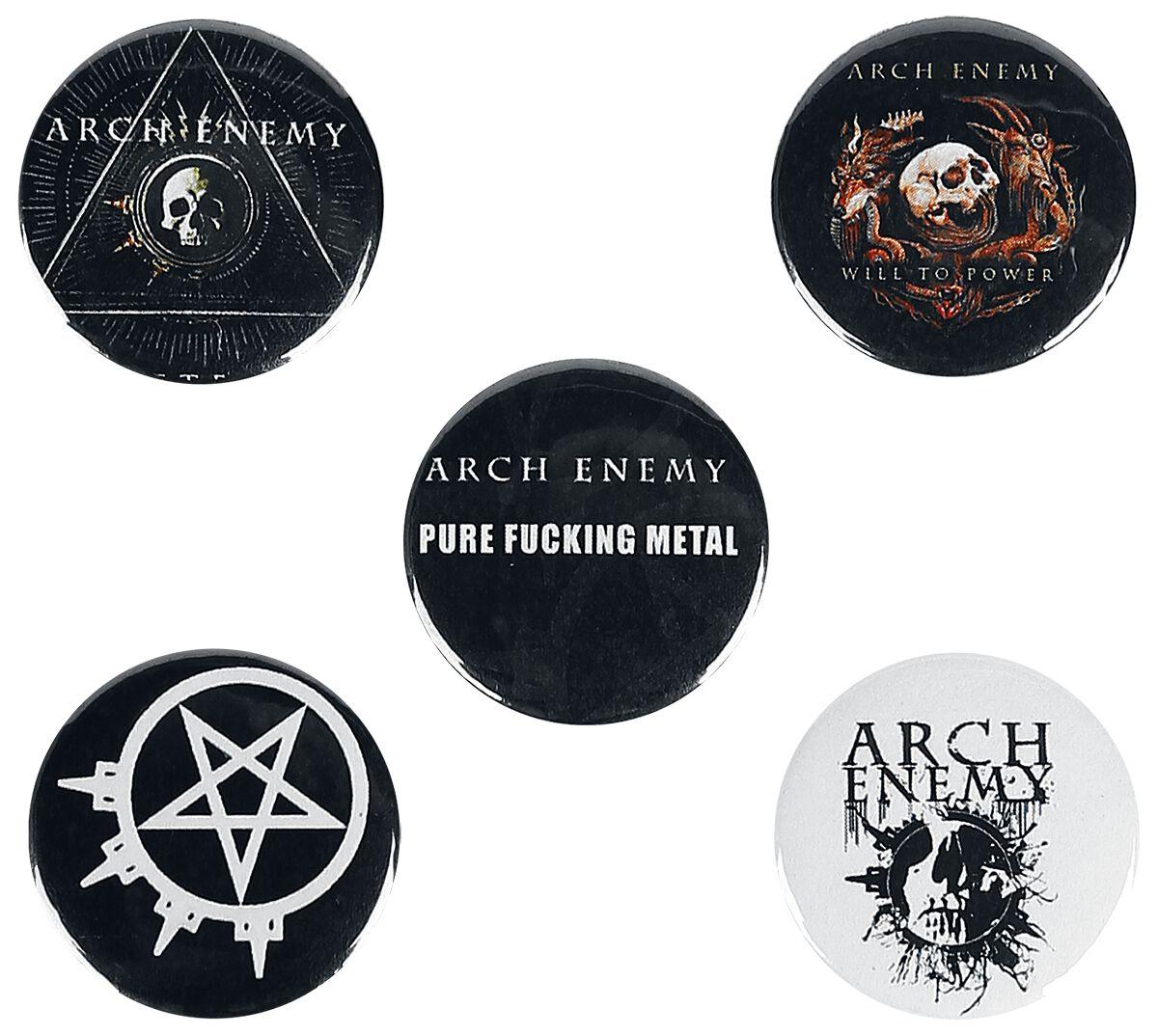 Mix Arch Enemy Badge Set Emp