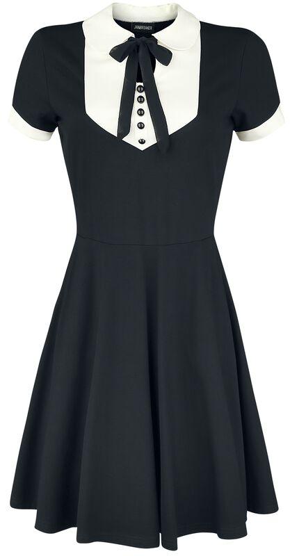 In A Mood Tie Neck Dress