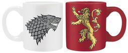 Stark & Lannister - Espresso Cup Set