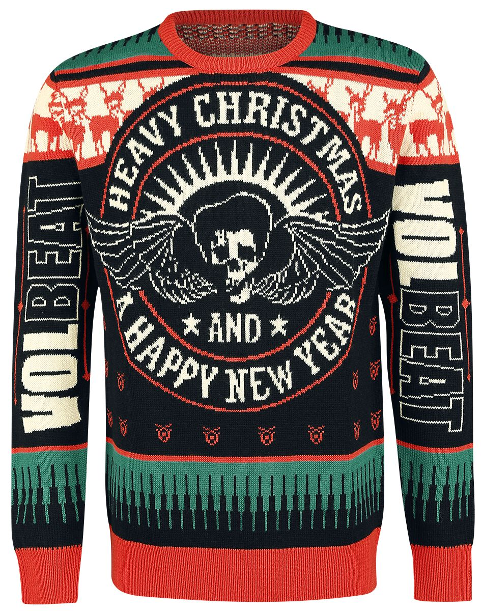 Holiday Sweater 2018 | Volbeat Christmas jumper | EMP