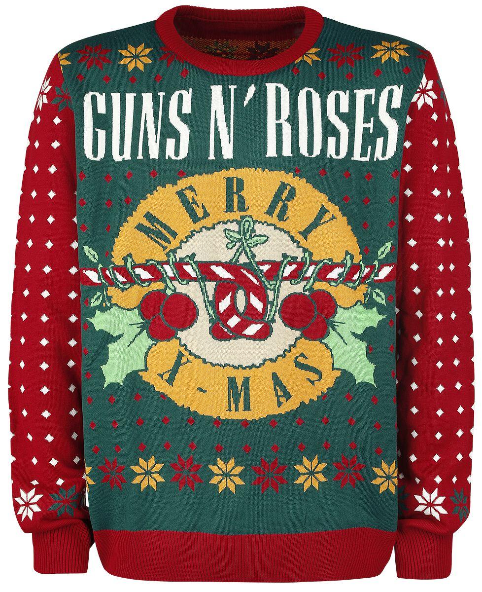 Holiday Sweater | Guns N\' Roses Christmas jumper | EMP