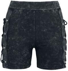 Black Shorts with Wash