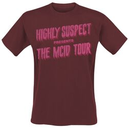 Highly Suspect Slimy Tour T-Shirt