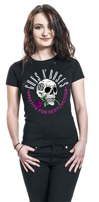 Appetite For Destruction Rose Skull