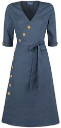Susanna Nautical Flared Dress