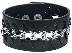 Braided Chain Leather Bracelet