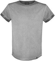 Grey T-shirt with Individual Wash