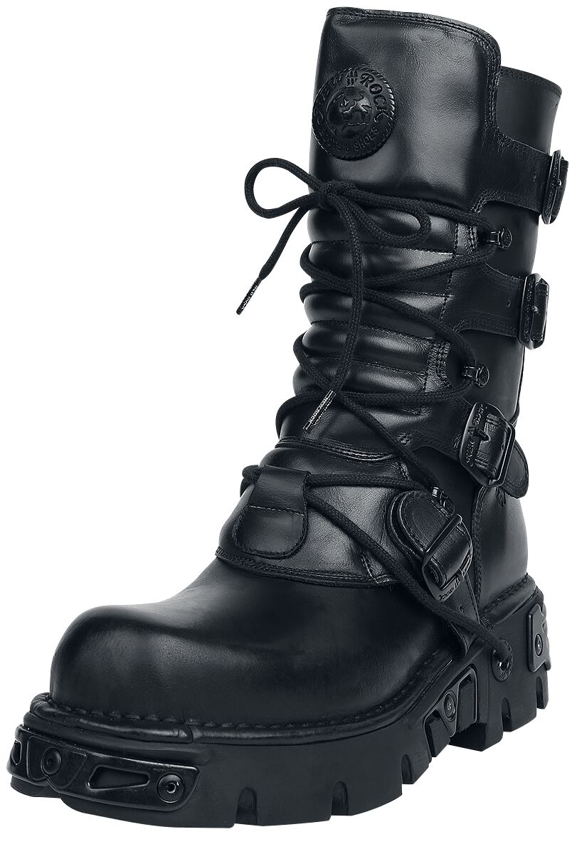 460cdd0cb Nomada Black | New Rock Boots | EMP